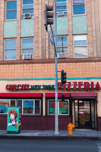 Built Structure Exterior Building Exterior Los Angeles, California USA Colors Colorful Architecture Pizza Pizzeria City Life City