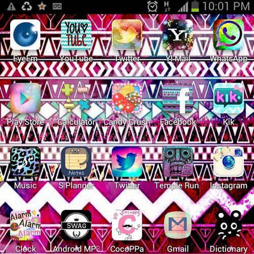who like my home screen?