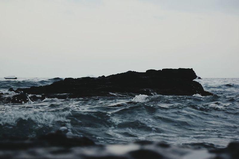 Rocks Waves Coastline Coastalphotography Contrast Ilovespain Showcase July Colour Of Life