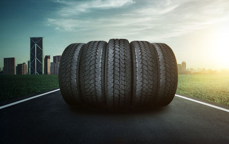 Wheel Tire Sky Transportation No People Rubber Nature Day Sport Outdoors Mode Of Transportation Road Black Color Close-up Cloud - Sky Competition Sunlight Travel Land
