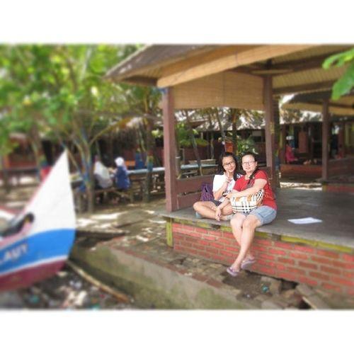 Dalam perjalanan menuju cirebon... Latepost Pesonalaut Restarea Cirebon  karangampel boat instagram instapic ig instaphoto