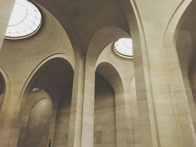 Arch Architecture Travel Destinations Low Angle View Indoors