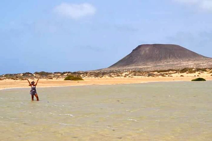 Summer Lagraciosa Canary Islands Beauty In Nature Beautiful Nature Sea Holiday