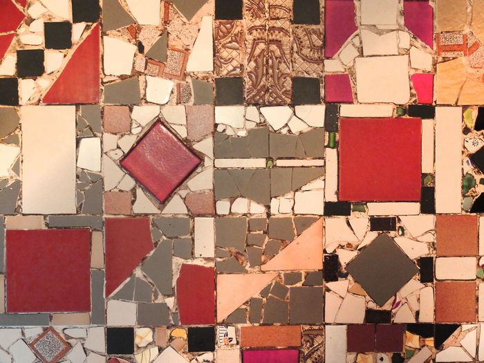 mosaic tiles Abstract Architecture Arrangement Backgrounds Building Exterior Close-up Day Full Frame Indoors  Large Group Of Objects Multi Colored No People Pattern Mosaic Red Tiles Variation