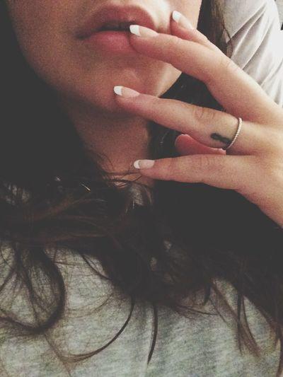 Liking the long nails