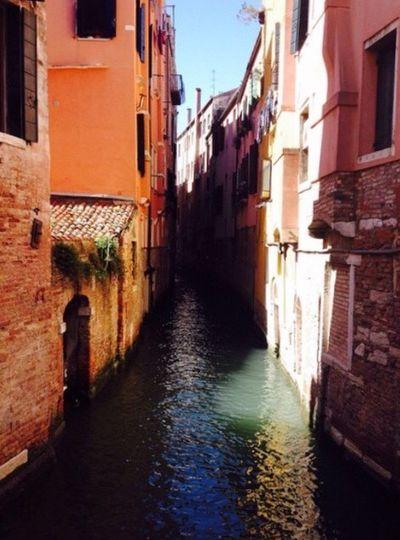 Venezia 2014 Architecture Venice, Italy Canal Gondola - Traditional Boat City Water Colori Caldi Cultures Italia Outdoors Fotografia -CM
