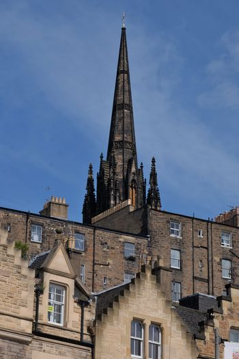 City of Edinburgh Cityscape Graveyard Greyfrairs Bobby Historical Building Old Buildings Old Town Statues And Monuments Street Photography