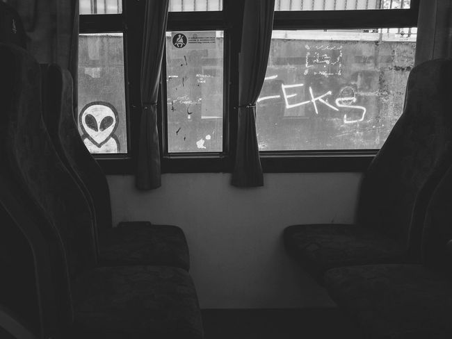 No People Day Alien Aliens Alien Encounters Bus Streetphotography Travel Travel Destinations Traveling Travel Photography Travelphotography Travelgram Bnw Bnw_collection Blackandwhite Blackandwhite Photography Bnw_captures Bnw_life Scary Spooky Creepy Spooky Atmosphere Martian  UFO The Street Photographer - 2017 EyeEm Awards