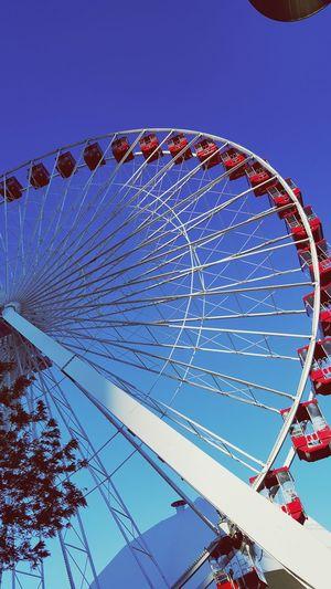 Taking Photos Ferris Wheel Chicagoshots