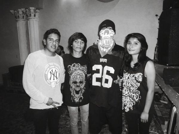 Thell Barrio. ♡ Music Friends Fun Times Metalmusic Mexico Lml Hardcore
