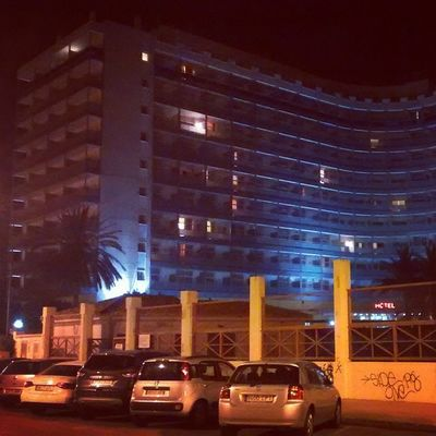 At the night. Hoteltresanclas Hotel3anclas Gandiabeach Gandia