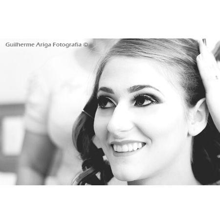 Como prometido aqui uma foto da noiva Carla da cidade de São Lourenço do Oeste - SC ! Makecarla Guilhermearigafotografia
