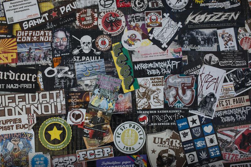 Full frame shot of graffiti