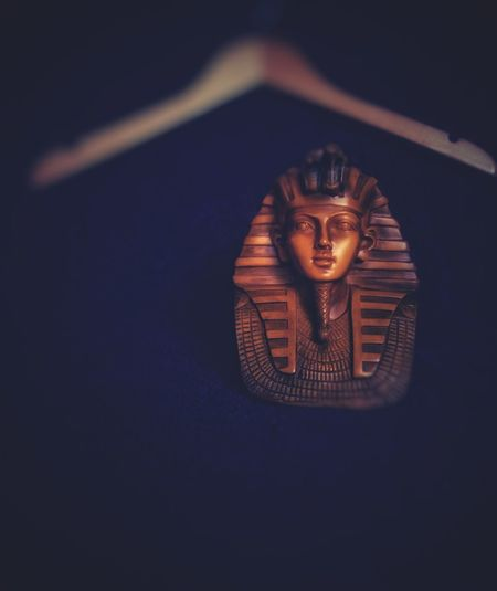 Single Object No People Indoors  Gold Colored Gold Close-up Day Egyptian Egypt Sculpture Statue Religion
