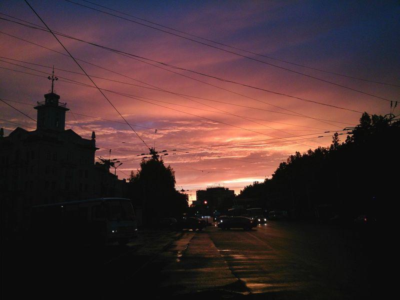 Dawn Silhouette Cloudporn Russia