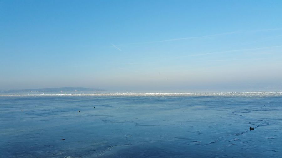 Sea Nature Beach Blue Water Sky Beauty In Nature Outdoors Tranquility Scenics Tranquil Scene Wave Sand Day Horizon Over Water No People Eis Frozen Lake View Lake Constance Premium Collection Kanton Thurgau Bodenseekreis Bodenseeregion Thurgau