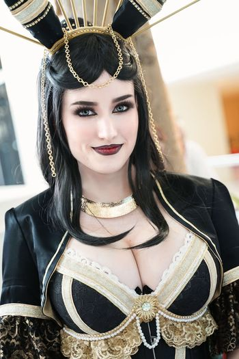 Katsucon 2019 Cosplaygirl Cosplayer Cosplay Katsucon 2019 Katsucon Portrait Beauty Looking At Camera Young Adult Beautiful Woman Young Women One Person Adult Women Fashion Headshot Focus On Foreground Smiling Hairstyle Beautiful People