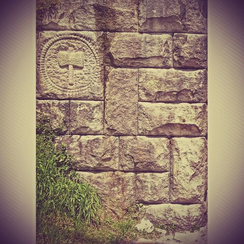 Wall Hammer Grass Rock Rocks Art Experimental Simbols Modern New Trying out some new editing stiles☺👐