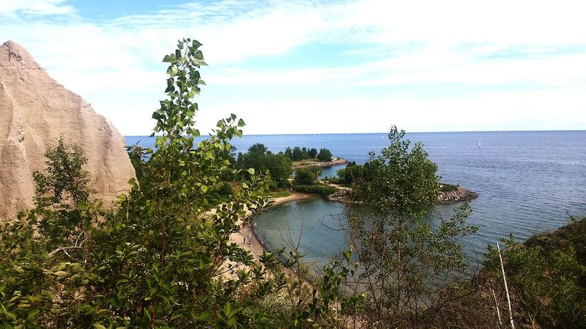 Scarborough Bluffs Canada Staycation Hiking Nature Beauty In Nature Natural Mountains Toronto Cityscapes Check This Out Hello World Outdoors Summer16 Adventure Club