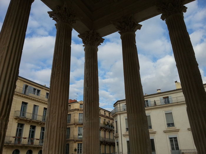 France🇫🇷 Nîmes Maison Carrée Monuments Outdoors