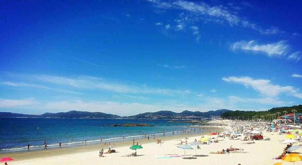 Playa de Samil (Vigo, Galicia, Spain) Vigo Galicia, Spain Rias Baixas Landscape Paisaje Tourists Life Is A Beach Sea And Sky Sea_collection Summer