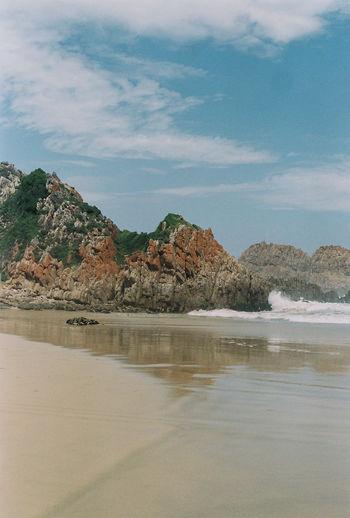 Cliffs 35mmfilmcamera 35mmfilmphotography Analog Analogue Photography Beach Beachtrip Cliffside Knysna Sea Sea And Sky Seascape South Africa Summer Summertime The Great Outdoors - 2017 EyeEm Awards