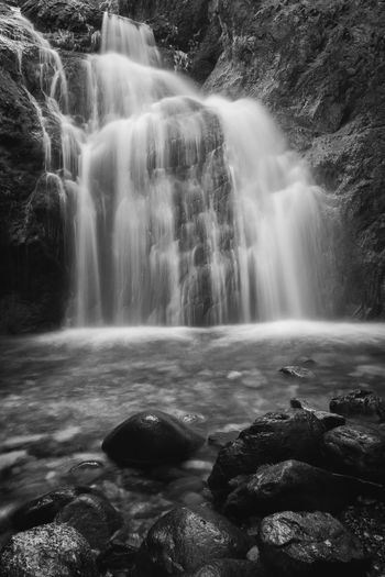Beauty In Nature Blurred Motion Day Flowing Water Freshness Idyllic Long Exposure Motion Nature No People Outdoors Rapid Rock - Object Scenics Travel Destinations Water Waterfall