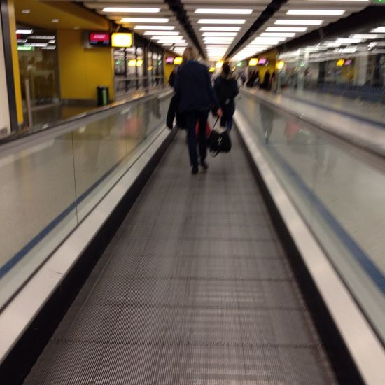 Perspective Walking Starting A Trip Berlin Bound