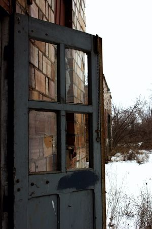 Door Drop The Stop New York Sl1 Factory Canon Outside Building Art Abandoned Abandoned Buildings Dark Glass