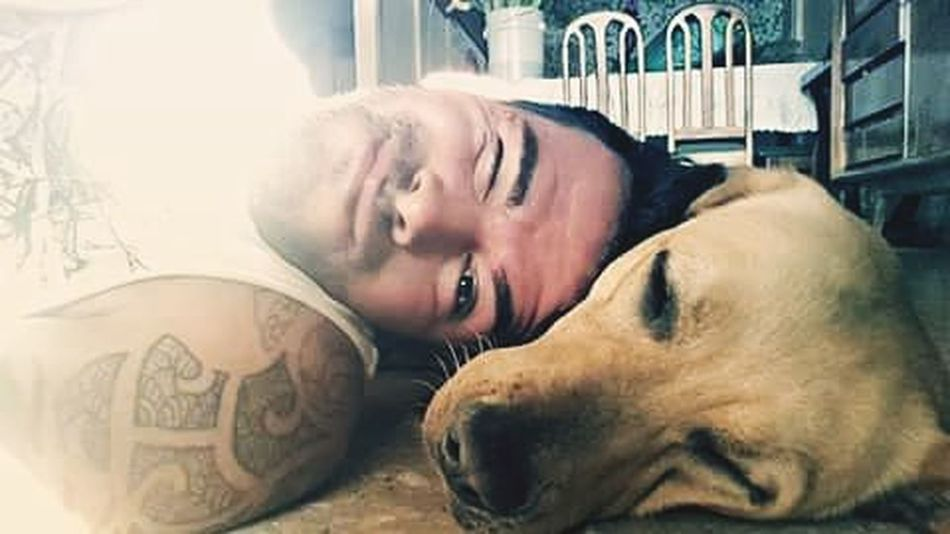 Max and me Ever Renegate Love Dogsofinstagram Dog Look Instagood Loving Sleep Costarica Tattoo Fun Victory Pop Barbershop Beard Streetwear Smile Good Life Lovedog
