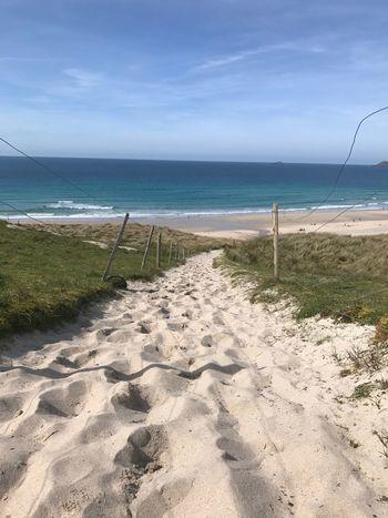 Beach Sand Sea Sunshine ☀ Cornwall Life Cornwall Walks IPhoneography