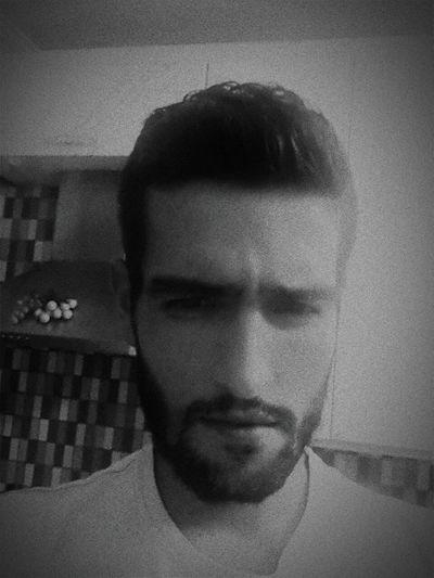 ILove Blackandwhite Whysoserious? Beardgang Beard