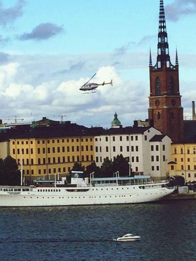 Stockholm I Mitt Hjärta Taking Photos Ship