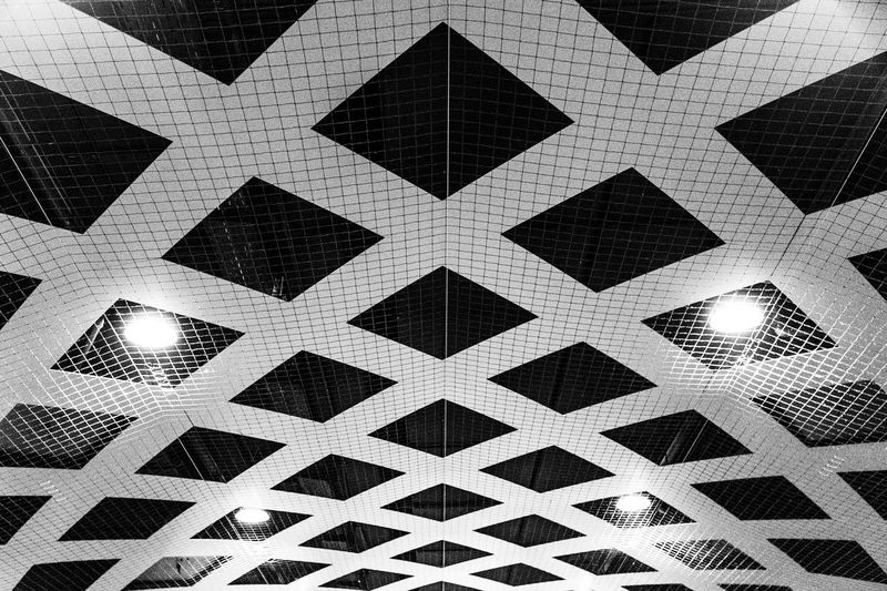 Abstract pattern in the railway station in Antwerp Abstract Architecture Backgrounds Built Structure Ceiling Close-up Design Flooring Full Frame Geometric Shape Illuminated Indoors  Light Lighting Equipment Low Angle View Minimalism No People Pattern Repetition Shape Tile Tiled Floor Wall - Building Feature EyeEmNewHere