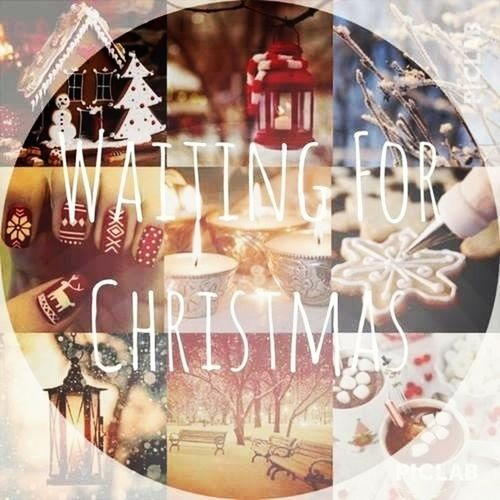 Waiting For Christmas Only Three Days Left Vorfreude Wait For Snow