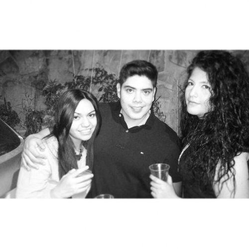 Con Karensita y Rodrigo :) QueBuenaPeda