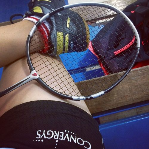 It's been a while, I miss this sport, and finally, I'm back! 😊 PlayingBadminton Rakitiers MariaPlays GettingSporty SweatySunday Elizareigns Badmintontime BadmintonLover YonexSocks LiningDriFit BabolatRacket CVGshorts Happyme