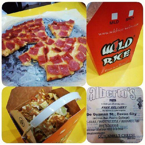at ALBERTO's Pizza Yummu Igers Monday Instapic 51313