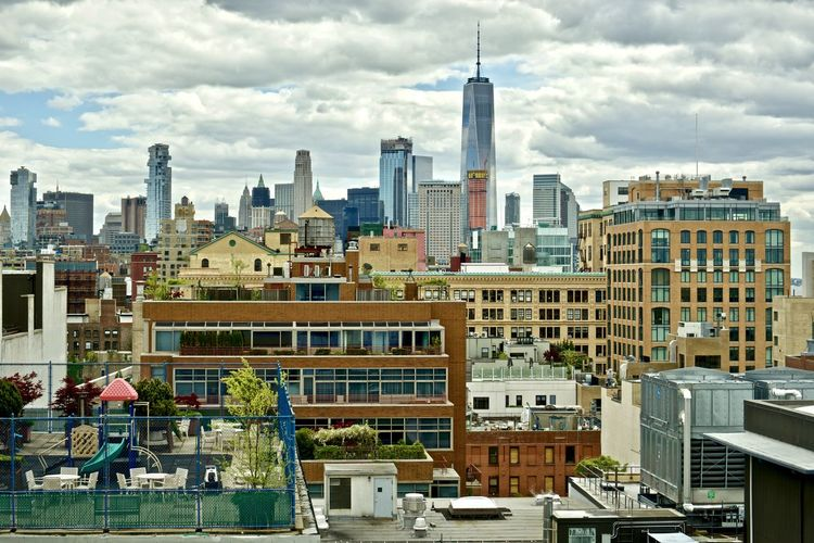 Usa, New York panoramas Architecture Cityscape Cloud Cloudy Dramatic Sky FAR AWAY Financial District  NYC New York Panorama Panoramic Skyline Building Exterior Built Structure Freedom Tower From A Distance Office Building Outdoors Remote Repetition Scenics Sky Urban Urban Skyline Window The Architect - 2018 EyeEm Awards