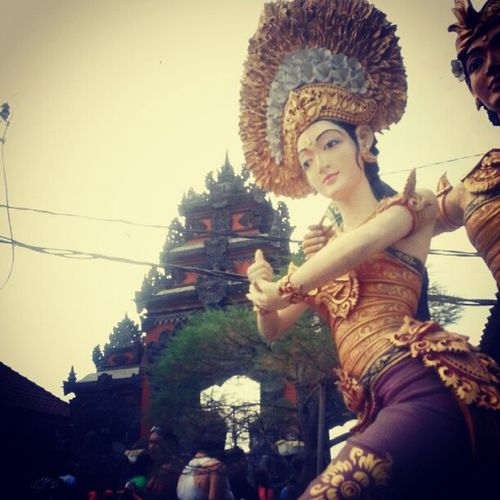 #temple #entrace at #bali #indonesia Entrace Scenery Painting INDONESIA Temple Statue Bali Static Traveldonesia