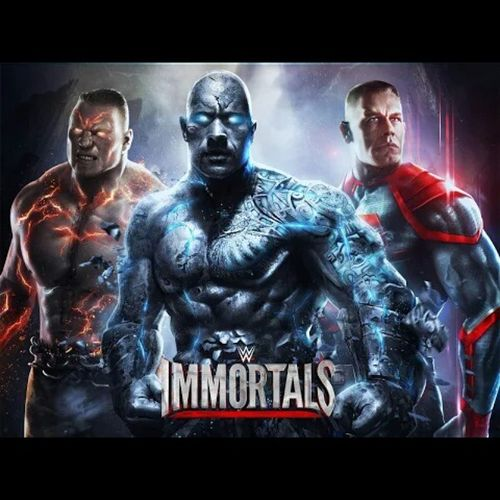 @wwe Immortals . Addicted by playing this game, wish they had more superstars, gold @therock and StoneCold should be included.