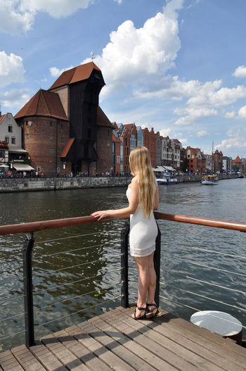 Exploring beautiful Gdansk - lovely young blonde girl in sunny Gdansk Blond Blonde Girl Casual Clothing City City Life Exploring Gdansk Gdansk (Danzig) Gdansk_official Girl Outdoors Person Poland Portrait Portrait Of A Woman Portraits Sunglasses Sunny Travel Travel Destinations Travel Photography Traveling Trip View Water Women Around The World