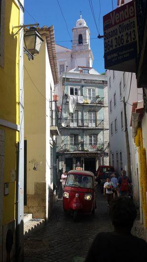 Lissabon TukTuk