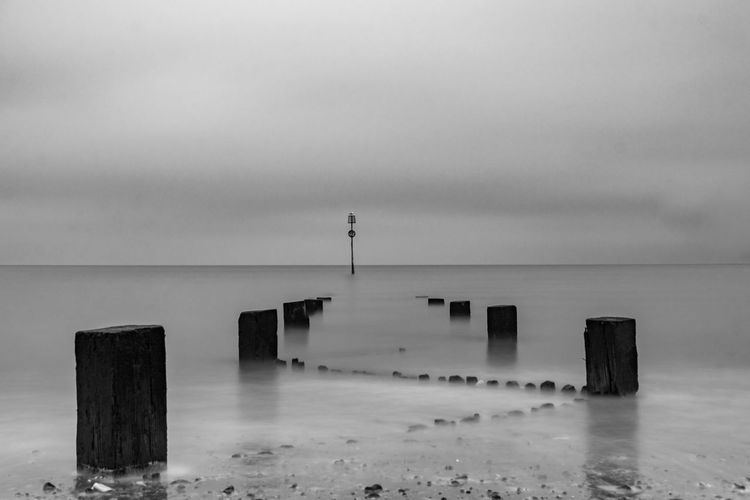 Water Sea Sky Tranquility Nature Tranquil Scene Day No People Built Structure Outdoors Scenics Beauty In Nature Horizon Over Water Architecture Groyne