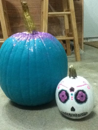 I made sparkly pumpkins! Sparkly Pumpkin Ideas Pumpkin