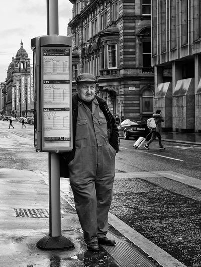 Going home. Upclosestreetphotography Upclose Street Photography Street Streetphotography Street Photography Glasgow  Workman Monochrome Blackandwhite Blackandwhite Photography Black And White Up Close Street Photography
