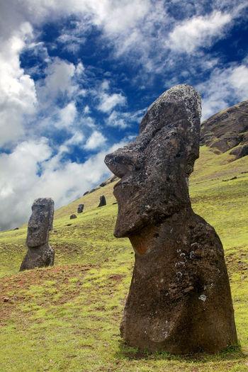 Moai on the