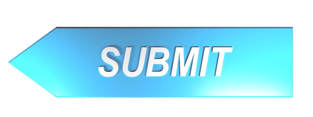 SUBMIT on blue