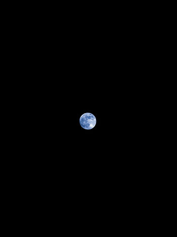 BLUE MOON ♥ Astrology Astronomy Beauty In Nature Clear Sky Copy Space Dark Full Moon Idyllic Low Angle View Moon Moonlight Nature Night No People Outdoors Planetary Moon Scenics - Nature Sky Space Space And Astronomy Space Exploration Tranquil Scene Tranquility