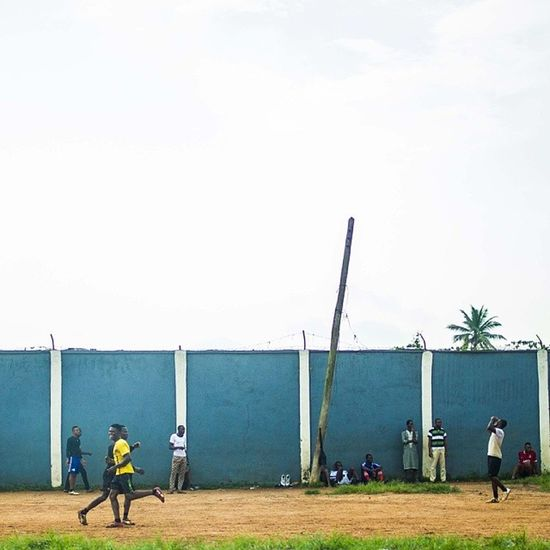 And the Game starts! Goal Naija Nigeria Nigerians football streetphotography Lagos lagosnigeria africa snapitoga